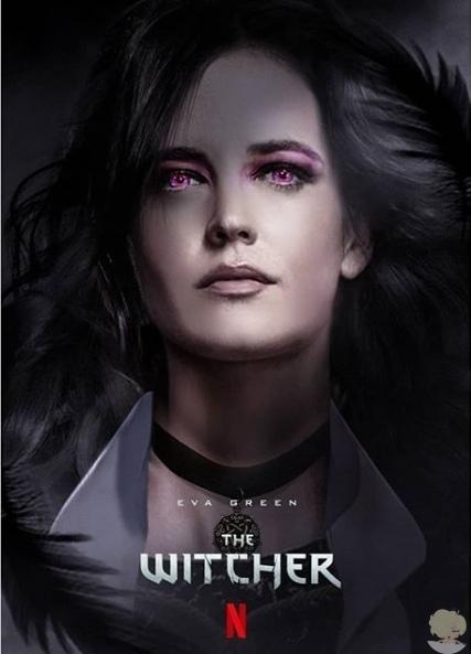 Натали Дормер и Еву Грин предлагают на роли Цири и Йеннифер в сериале «Ведьмак»