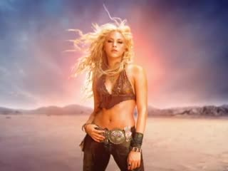 Shakira whenever, wherever (official music video) (шакира клип 2001)