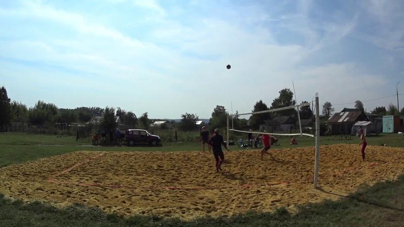 Игра 4 Пляжный волейбол - закрытие сезона микст Новосиль 2018/09/15