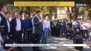 Новости на Россия 24 Саакашвили в центре Киева грозит властям Украины