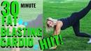 30 Minute Intense Cardio Hiit! Fat Burning HIIT! No Repeats!