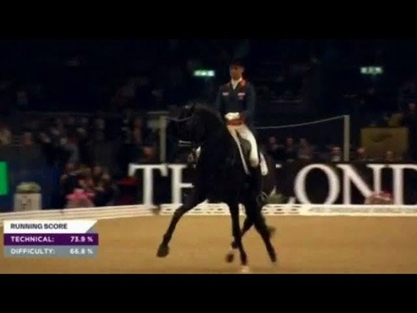 Hans Peter Minderhoud Glocks Dream Boy,CDI-W London Olympia 2018