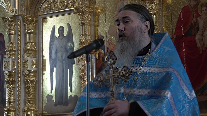 Проповедь игумена Максимилиана в праздник Рождества Пресвятой Богородицы