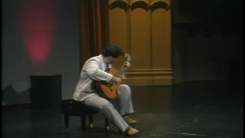 Scott Tennant at the 1986 Segovia Masterclass at USC