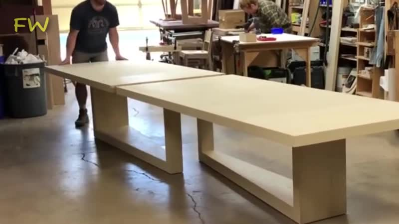 UWoodworker 5_ SLIDING TABLES, CHAIRS _ Amazing WoodWorking Products, Projects