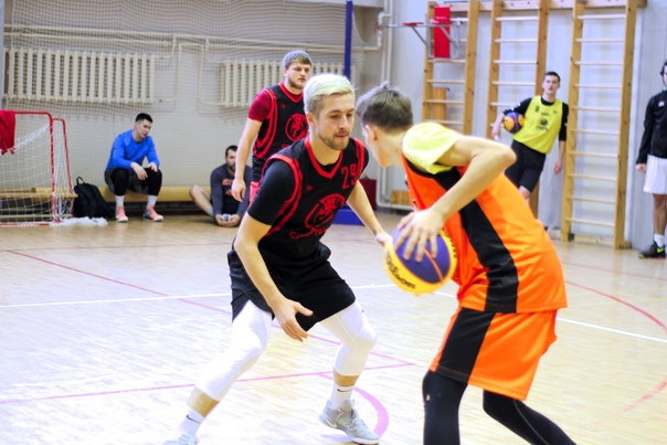 Зимняя Стритбольная Лига. 1 ЭТАП