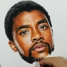 Sheila R Giovanni on Instagram Painting Chadwick Boseman Black Panter T'challa
