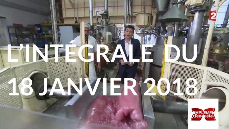 Complément d'enquête. La dictature du sucre - 18 janvier 2018 (France 2)