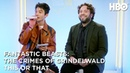 Ezra Miller Dan Fogler: This or That | Fantastic Beasts: The Crimes of Grindelwald (2018) | HBO