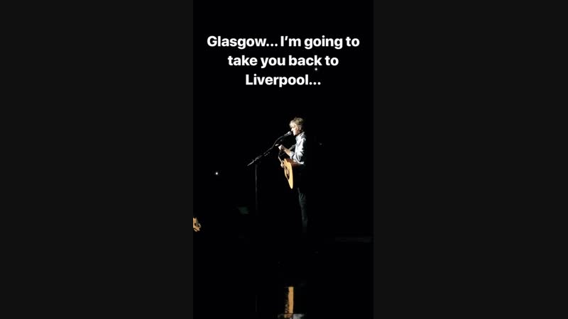 Glasgow... I'm going to take you back to Liverpool...