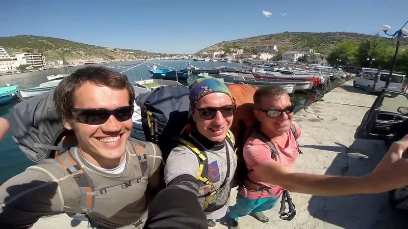 Bivouak fly in the mountains of Crimea ( Day 1)