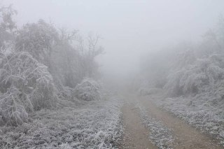 Ледяной туман.