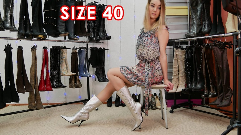 Anastasias brand new pointed toe high heels Gianna Melliani boots EU 40 US 9