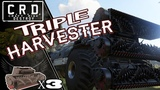 Crossout Harvester x3 TRIPLE JAWS ver. 0.9.130