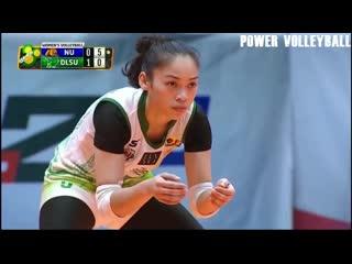 153 cm Amazing Volleyball Libero - Dawn Macandili (HD)