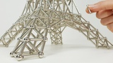 The Eiffel Tower made of Magnets Magnetic Games
