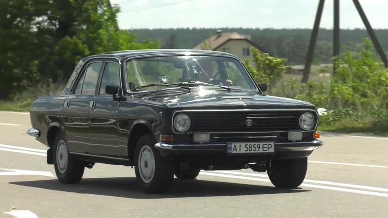 Волга ГАЗ 24 10 с пробегом 15 000км Очередная гаражная находка