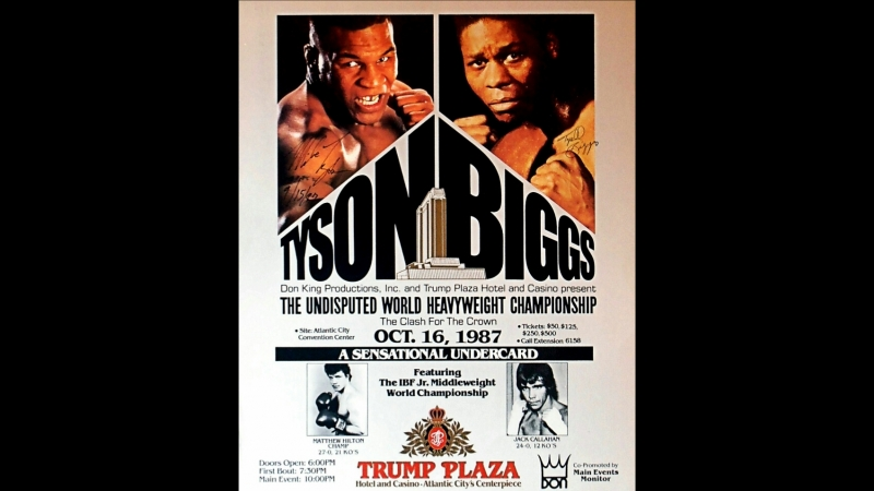 Майк Тайсон vs Тайрелл Биггс Mike Tyson vs Tyrell Biggs 16 10 1987