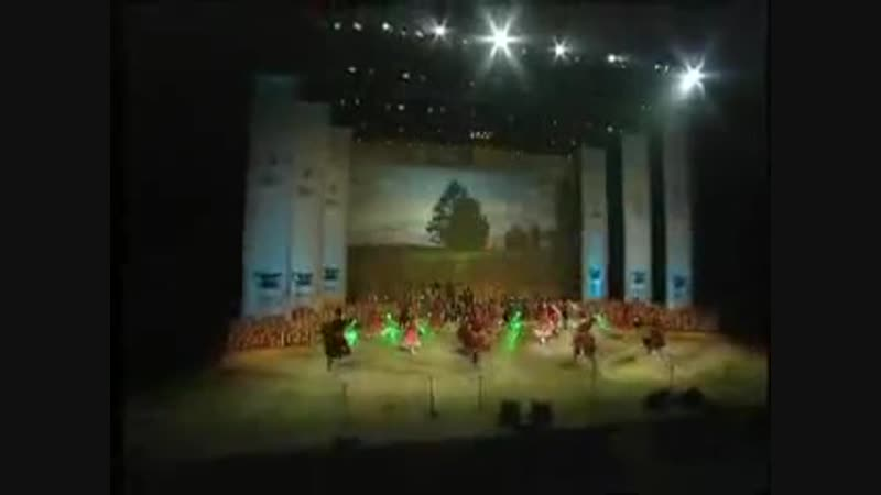 ККХ Молодычка The Kuban Cossack Choir dance Molodychka