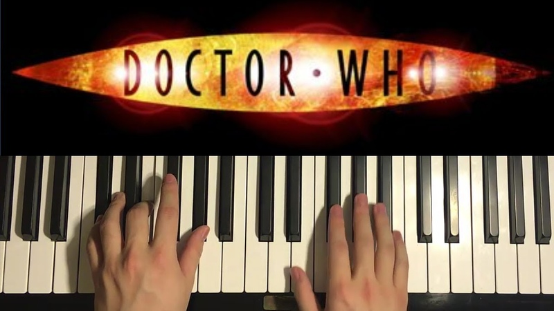 How To Play - Doctor Who - Theme Song (PIANO TUTORIAL LESSON)