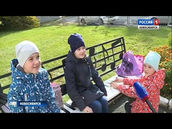 Репортаж про арт-объекты на ОбьГЭСе