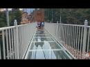 Китай .Бэйдайхэ. Стеклянный мост