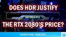 Why Did Nvidia Use HDR to Compare Pascal Turing HDR vs. SDR Performance Revisited