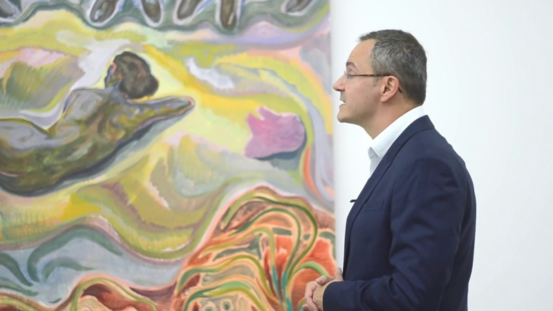 Michael Armitage at White Cube on The Art Channel