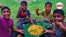 PRAWN BIRYANI Yummy Shrimp Biryani in Village Cooking Style by Kids