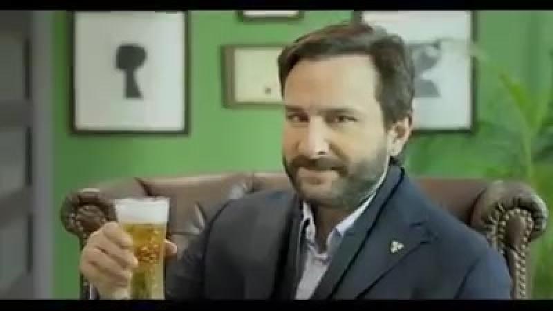Саиф в рекламе Carlsberg beer
