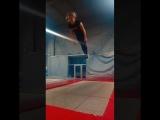 @kk.annet &amp @balamut_batut jump trumpline batut прыжки батуты трюки