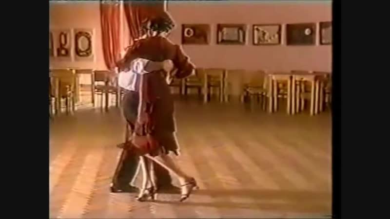 [Asi se baila milonga] - Pepito Avellaneda - Clase 11 ocho atras de la mujer con acompañamiento