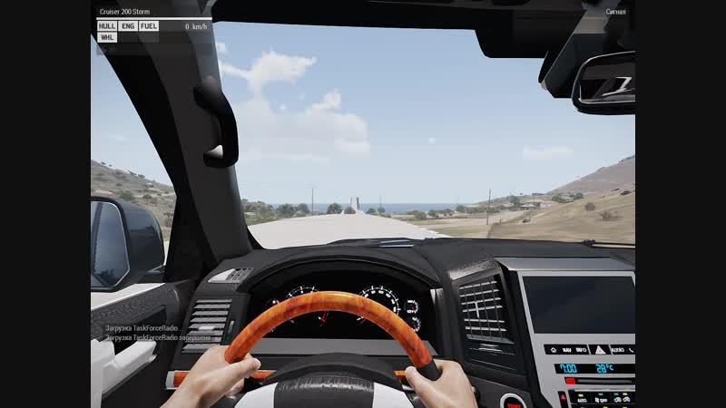 Toyota Land Cruiser 200 Storm самая быстрая тачка