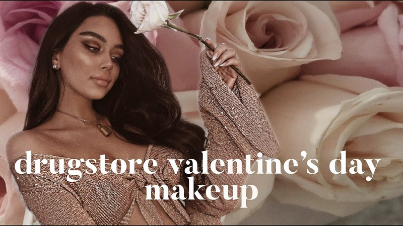 Drugstore Valentine's Day Makeup