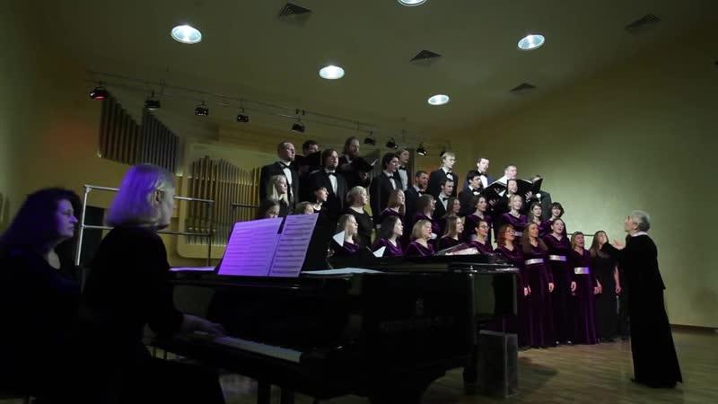 Юбилейный концерт хоровых коллективов МГППУ Художественный руководитель Бакланова Е Г