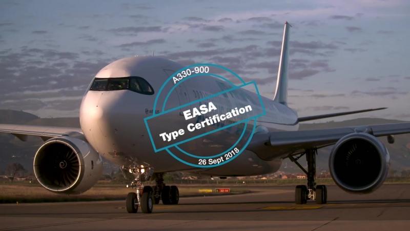 🛫 EASA сертифицировало А330 900neo