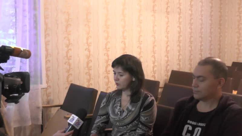 Запись интервью для REN-TV