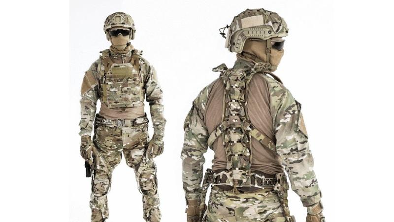 MAWASHI Ultralight Passive Ruggedized Integrated Soldier Exoskeleton UPRISE 1080p