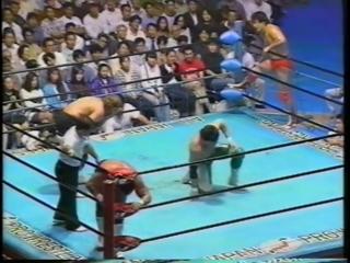 1993.09.09 - Kenta Kobashi/Mitsuharu Misawa vs. Steve Williams/Tracy Smothers [JIP]