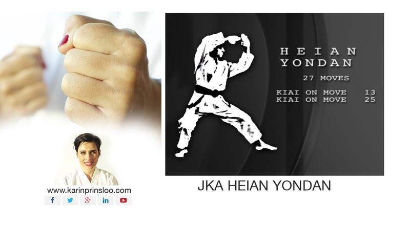 Heian Yondan - Kata Bunkai - Shotokan Kata - Karin Prinsloo