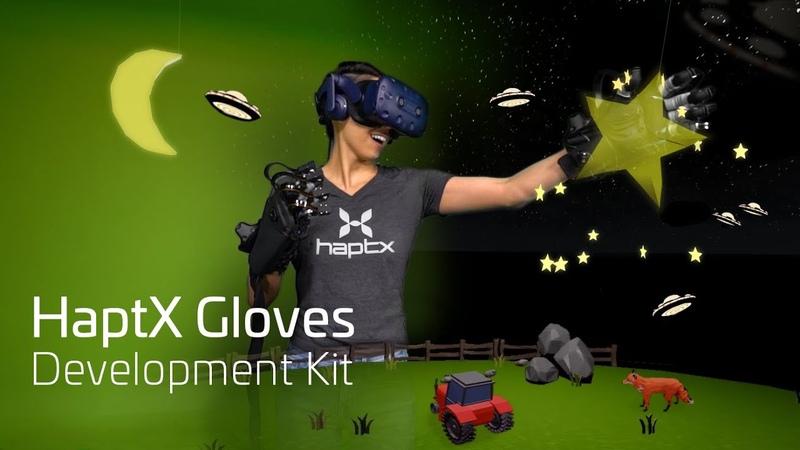 HaptX Gloves Development Kit - Launch Trailer
