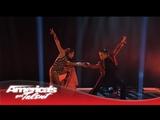 D'Angelo &amp Amanda - Duo Dazzle in Dance to
