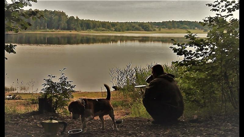 Рыбалка с Ночёвкой Потрясающий отдых И Отличный Клёв Шаурма На Костре