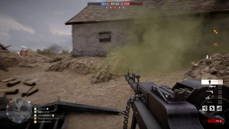 Battlefield 1 Небольшой killstrick