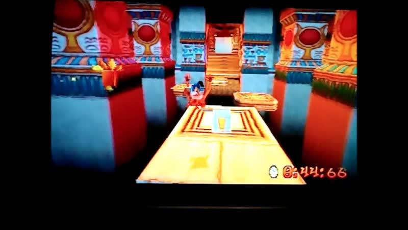 Crash Bandicoot 3: Warped (NTSC-J-version) Time Trial Tomb Time.52:20.PB