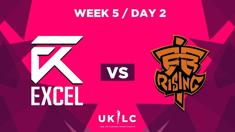 Excel UK vs. Fnatic Rising   UK League Championship   Week 5 Day 2   Spring Split 2019