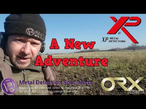 XP ORX, A New Adventure. Metal Detecting UK.