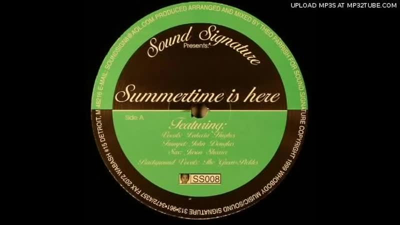 [2][094.75 D 189.50] theo parrish ★ summertime is here