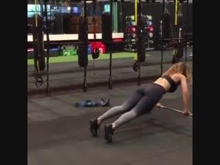 Тренировка со штангами