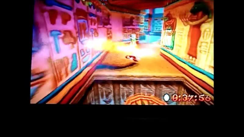 Crash Bandicoot 3:Warped (NTSC-J-version) Time Trial Sphyinxinator 49:50. Final version)